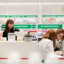 """""""Eurovaistinė"""" Šiauliuose dažniau dezinfekuos vaistines"""