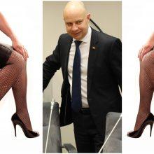 Erotines nuotraukas viešinusi A. Verygos padėjėja su ministru nebedirbs