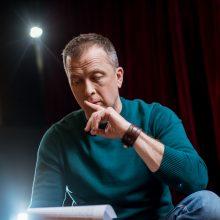 Aktorius D. Petkevičius gyvena kitaip. Kas pasikeitė per pastaruosius metus?