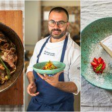 Virtuvės šefas G. L. Demarco: linkiu pradėti švęsti gyvenimą! <span style=color:red;>(receptai)</span>