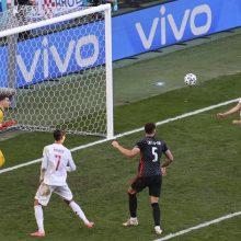 Aštuonių įvarčių trilerį po pratęsimo laimėjusi Ispanijos rinktinė – EURO 2020 ketvirtfinalyje