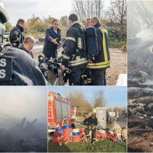 Ministrų kabinetas aptars gaisro Alytuje padarinių likvidavimą