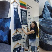 Prasmingos nenaudojamo džinso istorijos: nuo minkštos pagalvės iki sėdmaišio