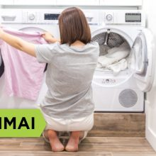 Patarimai, kaip išsirinkti skalbinių džiovyklę