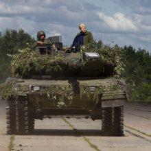 Baltijos šalys konkuruoja tarpusavyje įsigydamos ginkluotę