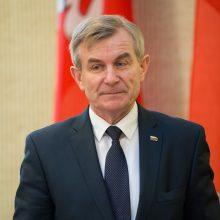 Seimo pirmininkas Strasbūre diskutuos apie migraciją