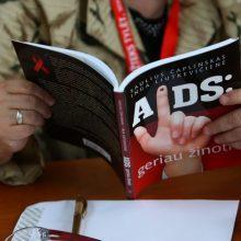 Daugiausia naujų ŽIV atvejų užregistruota Vilniuje – pusė sergančiųjų nesigydo