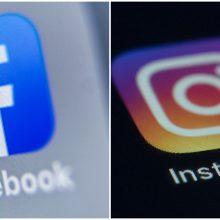 "Sutriko ""Facebook"" ir ""Instagram"" veikla"