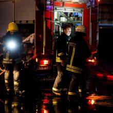 Ignalinos rajone dega namas