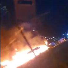 Šilainių turgavietėje – didžiulis gaisras: įtariamas padegimas