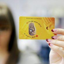 Sutikimą donoro kortelei gauti jau galima pildyti ir vaistinėje