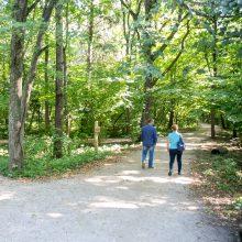 Kauno miškuose – didelis gaisrų pavojus