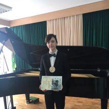 """""""Grand pas"""" diplomo nugalėtojas – Mindaugas Simukaitis"""
