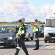 Klaipėdos policijos pareigūnai per savaitgalį išaiškino 17 neblaivių vairuotojų