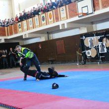 Moksleiviai domėjosi policininkų kasdienybe