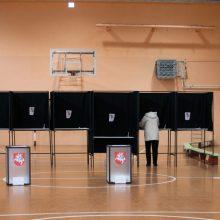 Per rinkimų savaitę policija pradėjo du ikiteisminius tyrimus dėl pažeidimų