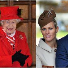 Karalienės Elžbietos II vaikaitė laukiasi trečiojo vaiko: juokauja, kad pavadins Covy arba Coveena