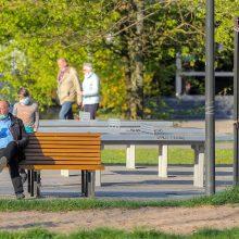 Mokslininkai apie karantiną: viešumoje žmonių daugėja, bet padėtis ir toliau valdoma