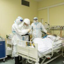 Ligoninėse šiuo metu gydomi 1222 COVID-19 pacientai, iš jų 120 – reanimacijoje