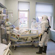 Ligoninėse šiuo metu gydomi 294 COVID-19 pacientai, iš jų 45 – reanimacijoje