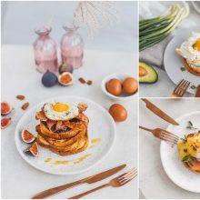 Trys skrebučių su kiaušiniais idėjos lėtiems savaitgalio pusryčiams