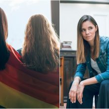 """E. Latėnaitė: """"LGBT propaganda"""" tėra sąmokslo teorija, priimkime savo vaikus tokius, kokie jie yra"""