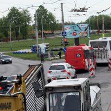 Primename: jau pirmadienį prasideda Kauno pilies žiedinės sankryžos rekonstrukcija