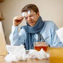Lietuvoje baigėsi gripo sezonas: specialistai teigia, kad jis buvo neįprastas
