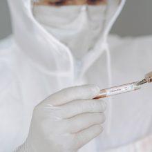 Laboratorija: Lietuvoje turimų reagentų turėtų užtekti bent dviem mėnesiams