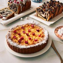 Šventiniams susitikimams – nepamirštamo skonio pyragai