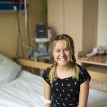 Gydytojai mergaitei padovanojo antrą gimtadienį