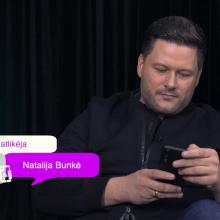 M. Vitulskis kreipėsi į N. Bunkę patarimo dėl skyrybų