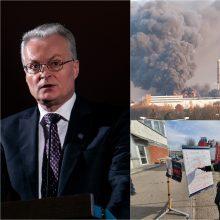 Alytaus meras po pokalbio su G. Nausėda: prašė pirmiausia gelbėti žmones