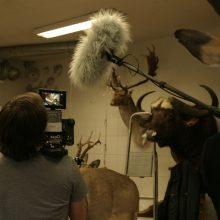 """Filmo """"Animus animalis"""" kūrimas: sulaužyta ranka ir žirafos galva kibire"""
