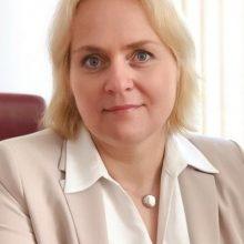 Aplinkos viceministre paskirta J. Grigaravičienė
