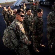 Ministras: JAV rudenį vėl atsiųs batalioną karių į Lietuvą