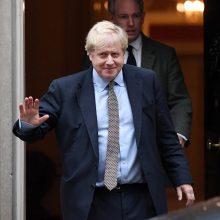 B. Johnsonas: išstoti spalio 31 dieną – vis dar įmanoma