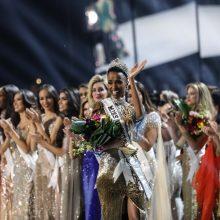 "Grožio konkurso ""Mis Visata"" nugalėtoja tapo PAR atstovė Z. Tunzi"