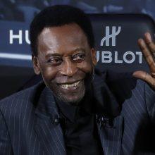 Brazilijos futbolo legenda Pelé serga depresija