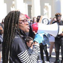 Eisenos, smerkiančios rasizmą, dalyviai: svarbu kalbėti net gyvenant už Atlanto