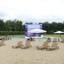Specialistas apie paplūdimį Lukiškių aikštėje: tai noras save parodyti pasauliui