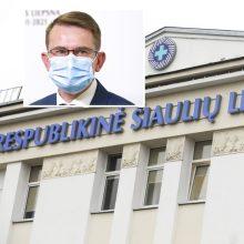 A. Dulkys vyksta į Šiaulius aiškintis situacijos dėl mobingo ligoninėje