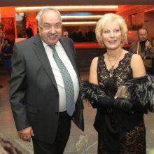 Aktorius A. Večerskis švenčia 70-ies metų jubiliejų