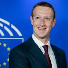 """""""Facebook"""" vadovas M. Zuckerbergas užsimojo ginti žodžio laisvę internete"""