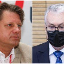 S. Čaplinskas: ką apie pandemijos valdymą savo metiniame pranešime pasakė G. Nausėda?