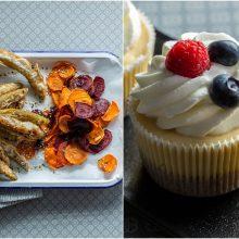 Savaitgalio delikatesas – traškios stintos ir bananų pyragaičiai