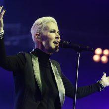 "Mirė dueto ""Roxette"" vokalistė M. Fredriksson"