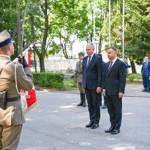 G. Nausėda Lenkijoje: tik bendromis pastangomis galime užtikrinti saugumą regione
