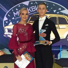 Lietuvos šokėjai iškovojo medalius varžybose Maskvoje, Prahoje ir Vroclave