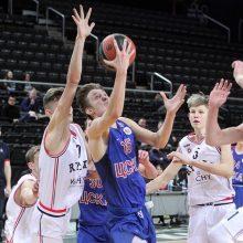 """""""Ryto"""" krepšininkai Eurolygos jaunių atrankos turnyre nugalėjo CSKA ekipą"""